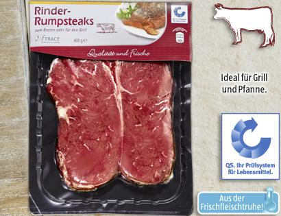 Rinder-Rumpsteaks, Oktober 2013