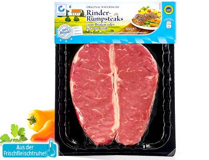 Rinder-Rumpsteaks, April 2014