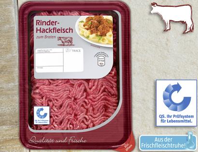 Rinder-Hackfleisch, Oktober 2013
