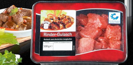 Rinder-Gulasch, November 2010