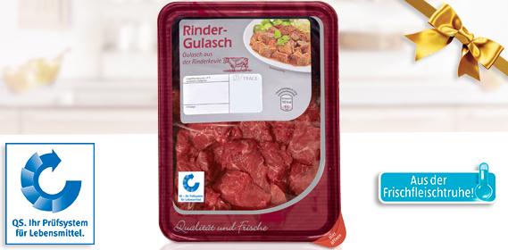 Rinder-Gulasch, M�rz 2013