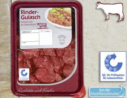 Rinder-Gulasch, Oktober 2013