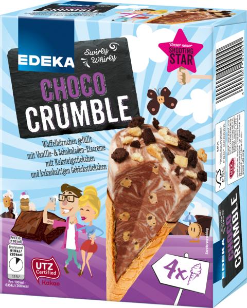 Choco Crumble, M�rz 2018