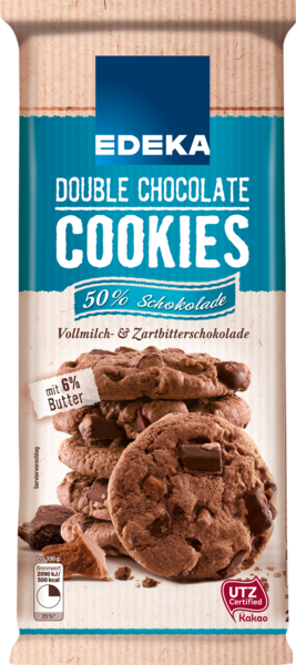 Cookies Double Chocolate, M�rz 2018