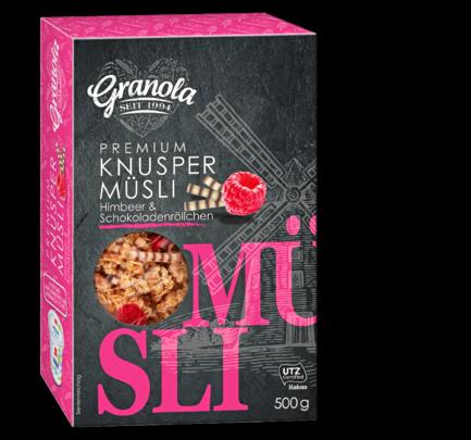 Premium Knuspermüsli, M�rz 2018