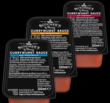 Currywurst-Sauce, April 2018