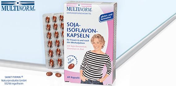 Soja Isoflavon Kapseln mit Vitamin B6, Oktober 2012