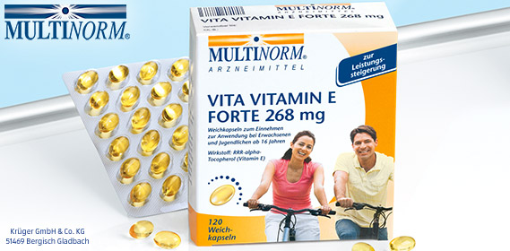 Vita Vitamin E forte 268 mg, April 2012