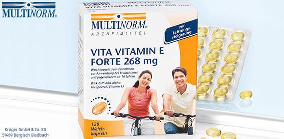 Vita Vitamin E forte 268 mg, Oktober 2012