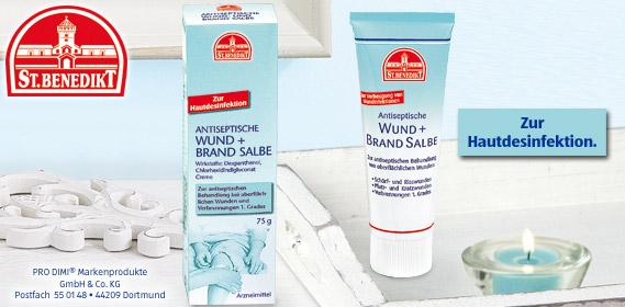 Antiseptische Wund + Brand Creme, September 2010