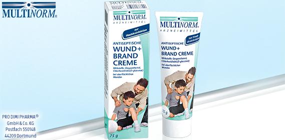 Antiseptische Wund + Brand Creme, Dezember 2012