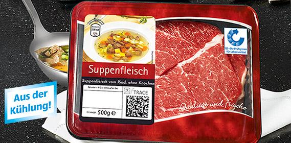 Rinder-Suppenfleisch, September 2011