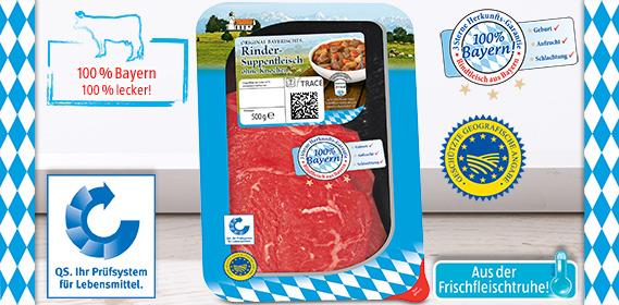 Rinder-Suppenfleisch, Oktober 2012