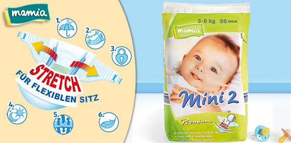 Premium-Windeln, Mini 2, Januar 2012