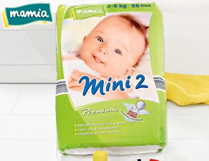 Premium-Windeln, Mini 2, September 2013