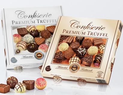 Confiserie Premium Trüffel, M�rz 2014