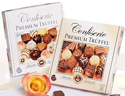 Confiserie Premium Trüffel, April 2014