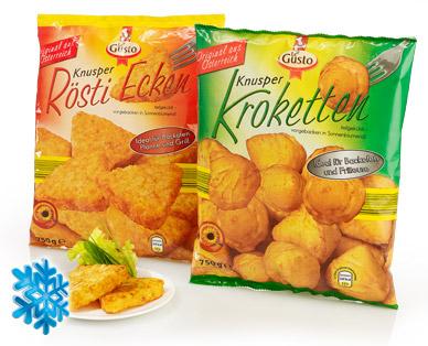 Kroketten/Rösti-Ecken, Oktober 2014