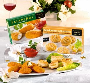 Gourmet-Snacks, November 2007