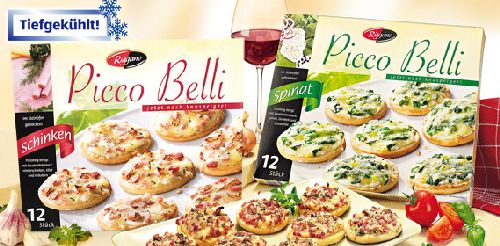 Picco Belli, Mini-Pizza, 12x 30g, Oktober 2007