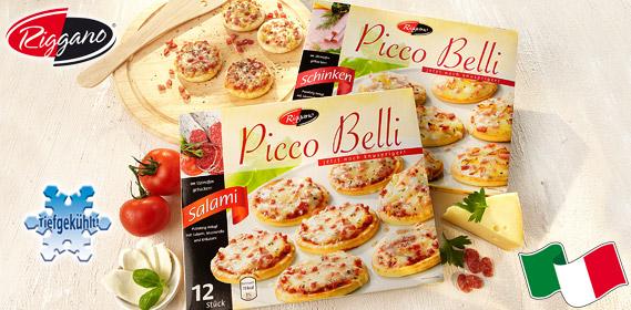 Picco Belli, Mini-Pizza, 12x 30g, Dezember 2011