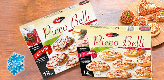Picco Belli, Mini-Pizza, 12x 30g, Mai 2012