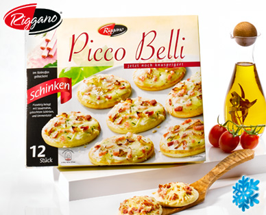 Picco Belli, Mini-Pizza, 12x 30g, August 2014