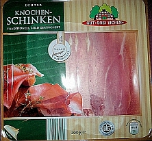 Echter Knochenschinken, August 2010