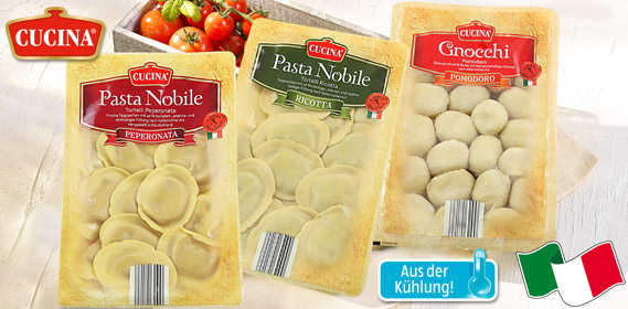 Frische Pasta Nobile / Gnocchi, M�rz 2013