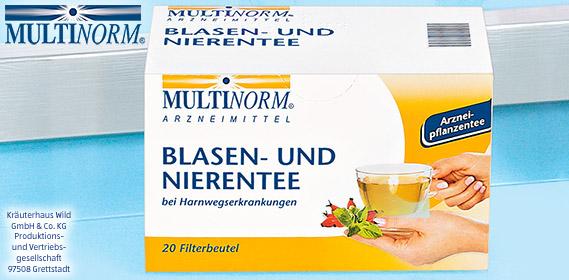 Blasen- und Nierentee, April 2012