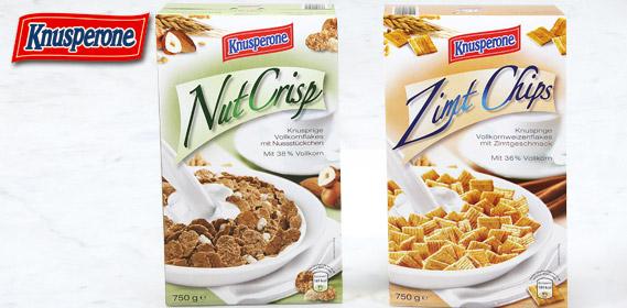 Nut Crisp / Flakes o. Honey Rings, Juli 2010