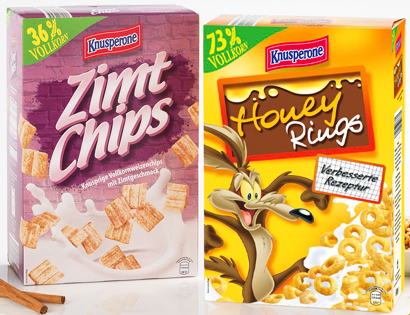 Nut Crisp / Flakes o. Honey Rings, Januar 2014