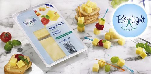 Käse-Snack in Würfeln, 2x 110 g, Oktober 2007