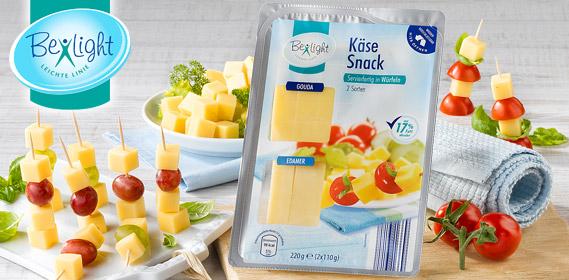 Käse-Snack in Würfeln, 2x 110 g, Februar 2012