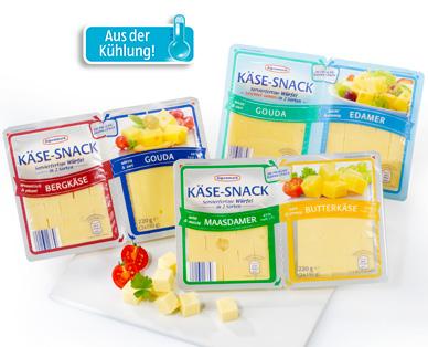 Käse-Snack in Würfeln, 2x 110 g, Januar 2015