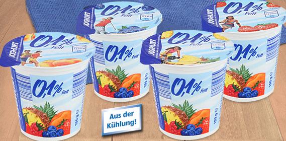 Fruchtjoghurt 0,1 % Fett, M�rz 2011