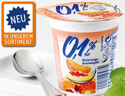 Fruchtjoghurt 0,1 % Fett, November 2013