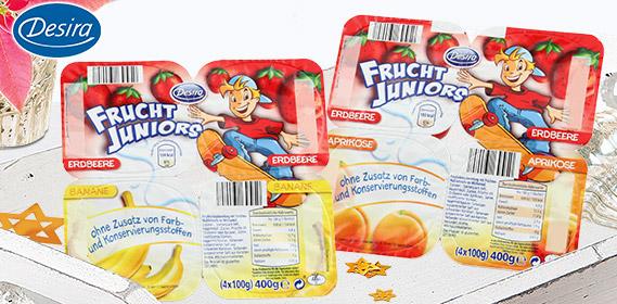 Frucht Juniors, 4x 100 g, November 2010