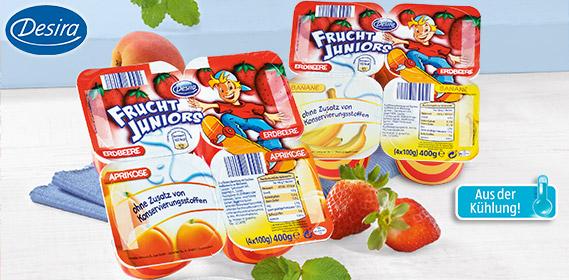 Frucht Juniors, 4x 100 g, April 2012