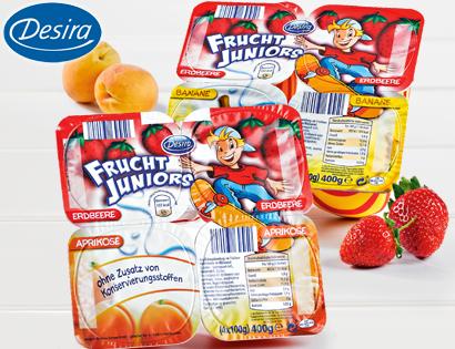 Frucht Juniors, 4x 100 g, September 2013