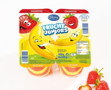 Frucht Juniors, 4x 100 g, September 2014