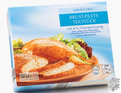 Hähnchenbrust-Filets mit Flüssigwürzung, M�rz 2014