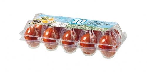Gekochte, bunte Eier, Juli 2008