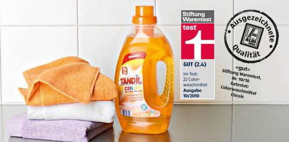 Flüssiges Colorwaschmittel, M�rz 2012