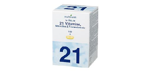 Multivitamin-Tabletten, Oktober 2007