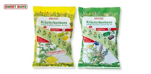 Kräuterbonbons ohne Zucker (Beutel), Oktober 2008
