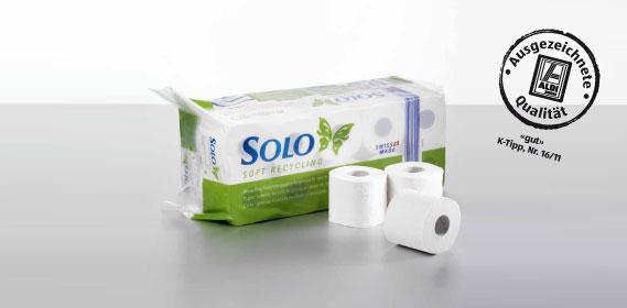 Toilettenpapier Recycling 3 - lagig, M�rz 2012