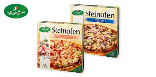 Pizza Steinofen, September 2009