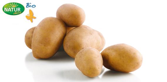 Bio Kartoffeln, April 2012