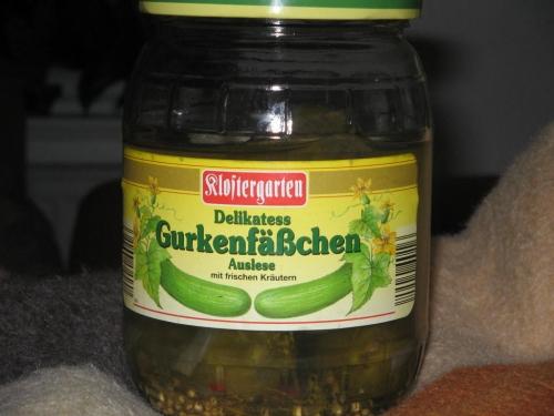 Gurkenfäßchen, November 2008